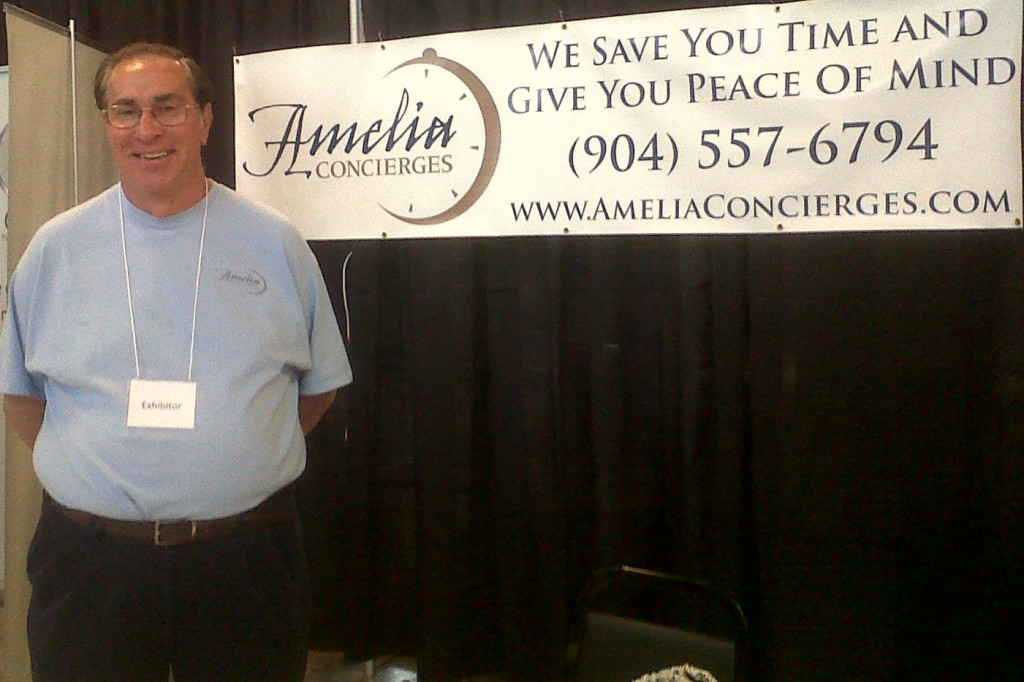 Bob at the 2011 Amelia Island Home & Patio Show